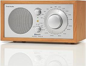 Tivoli Audio Model One Bluetooth AM/FM Radio in Cherry/Silver