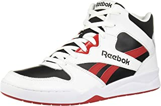 Reebok Men's Royal BB4500 HI2 Basketball Shoe, White/Black/Excellent red