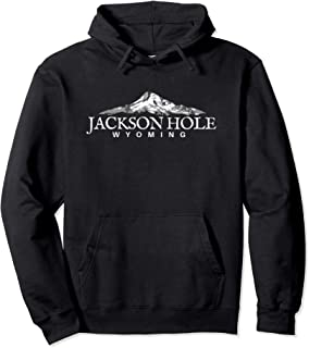 Jackson Hole WY Hoodie, Wyoming Mountain Town Pullover