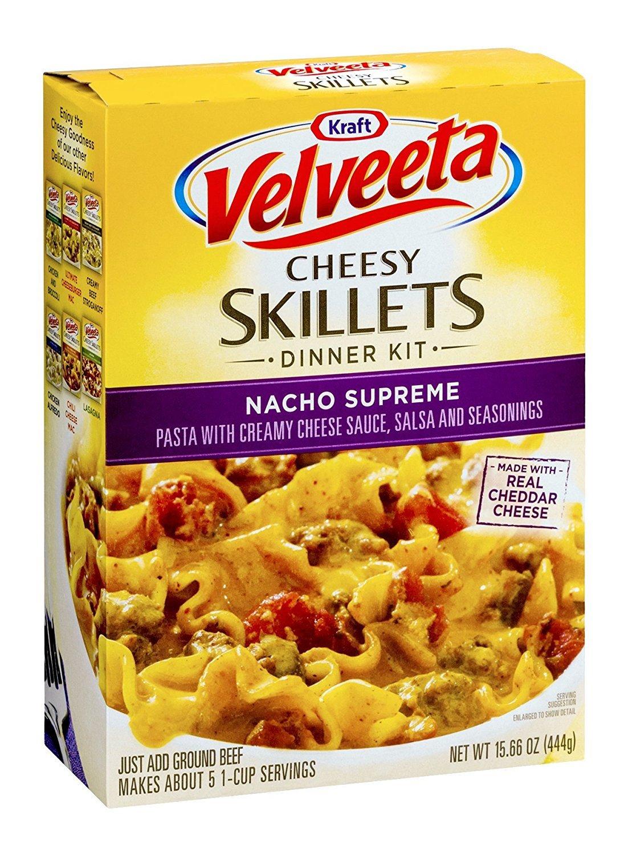Velveeta Kraft Velveeta Cheesey Skillets Nacho Supreme Dinner Ki