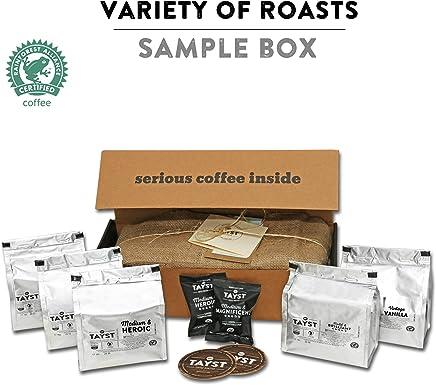 Amazon com: sample box - Tayst Coffee Roaster