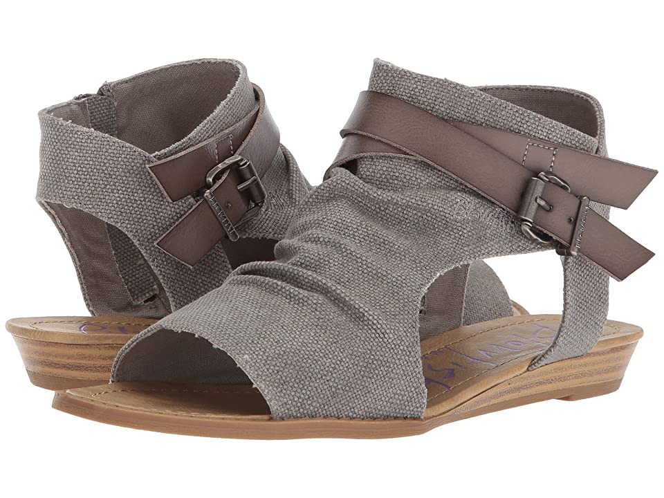 Blowfish Balla (Steel Grey Rancher Canvas/Grey Dyecut PU) Women