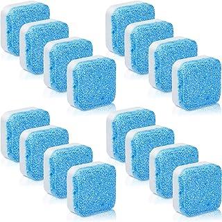 Blulu 16 Piezas Limpiador Sólido de Lavadora Tableta