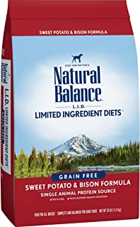 Natural Balance Limited Ingredient Diets Dry Dog Food -...