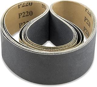 y-weightA/&H Abrasives 159410x5 5-pack 4x36 Silicon Carbide 400 Grit Sander Belt
