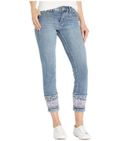 Jag Jeans Carter Girlfriend Jeans w/ Layered Hem in Mid Vintage (Mid Vintage) Women