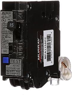 Murray MPA115AFC 15-Amp Single Pole 120-volt Plug-On Combination AFCI Breaker