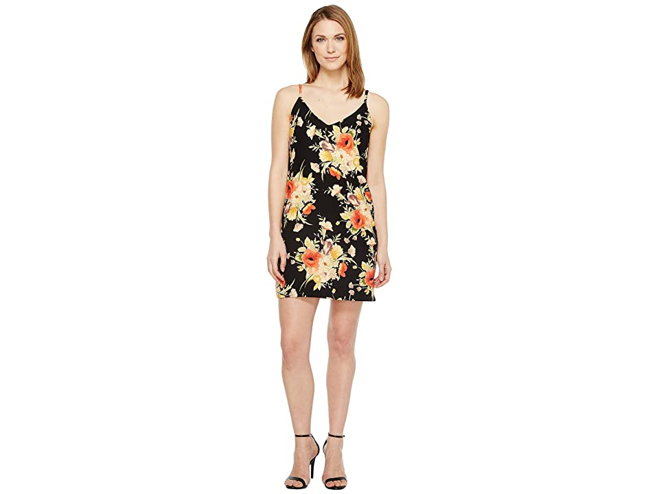 Sanctuary Mini Slip Dress (Dark Lily Pond) Women