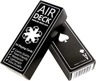 Air Deck Travel Playing Cards - Black