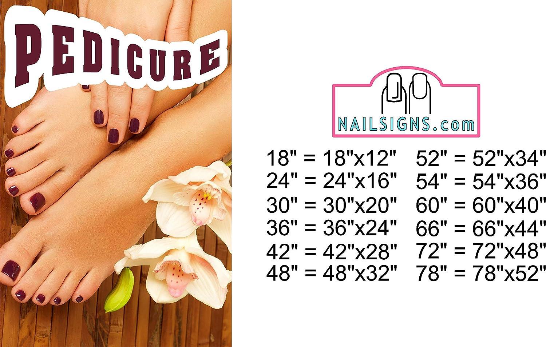 NAILSIGNS.com Pedicure X Max 72% OFF Services Nail Nashville-Davidson Mall Decor Salon See-Thro Mesh