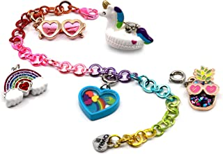 CHARM IT! Rainbow Charm Bracelet Set