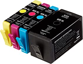 AmazonBasics Remanufactured Ink Cartridge Replacement for HP920XL Combo Pack