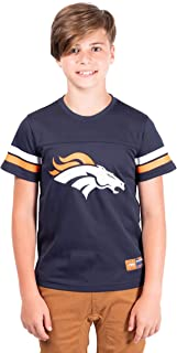 Ultra Game NFL Boy's Mesh Vintage Jersey Tee Shirt