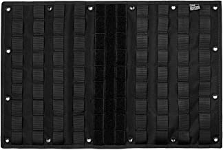 OneTigris Multi-Purpose MOLLE Gear Panel Organizer Patch Display Board with 16 Grommeted Holes