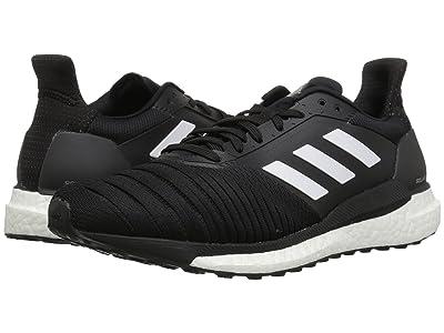adidas Running Solar Glide (Black/White/Black) Men