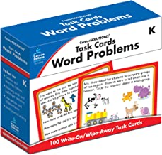 Task Cards: Word Problems Grade K Board Game