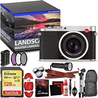 Leica Q (Typ 116) Digital Camera (Silver Anodized) - Master Landscape Photographer Kit - Memory Card - Accessories