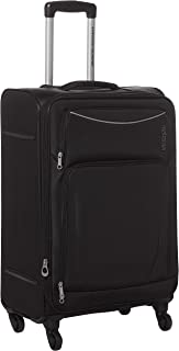 American Tourister FL9 (*) 09 902 Portland Softside Spinner Luggage Trolley 68cm with TSA Lock - Black