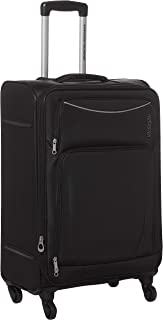 American Tourister Portland Softside Spinner Luggage Trolley 68cm with TSA Lock - Black