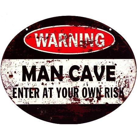 2x Retro Metall Auto Blechschild Plakette HOME CAT Bild Bar Pub Man Cave