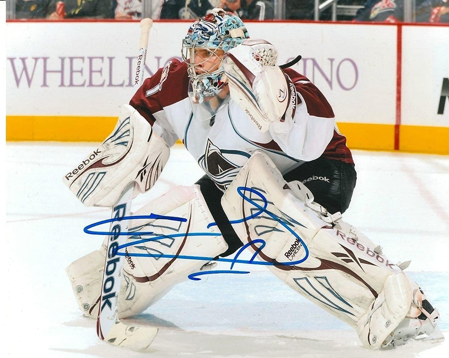 Autographed Semyon Varlamov Photo  8X10 COA  Autographed NHL Photos