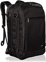 AmazonBasics Carry On Travel Backpack - Black