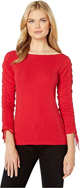 21b4fa28898b7a Women's Short Sleeve Red Shirts & Tops + FREE SHIPPING | Clothing