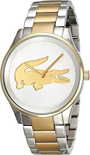 Lacoste Women's Silver Dial Stainless Steel Band Watch - 2001034