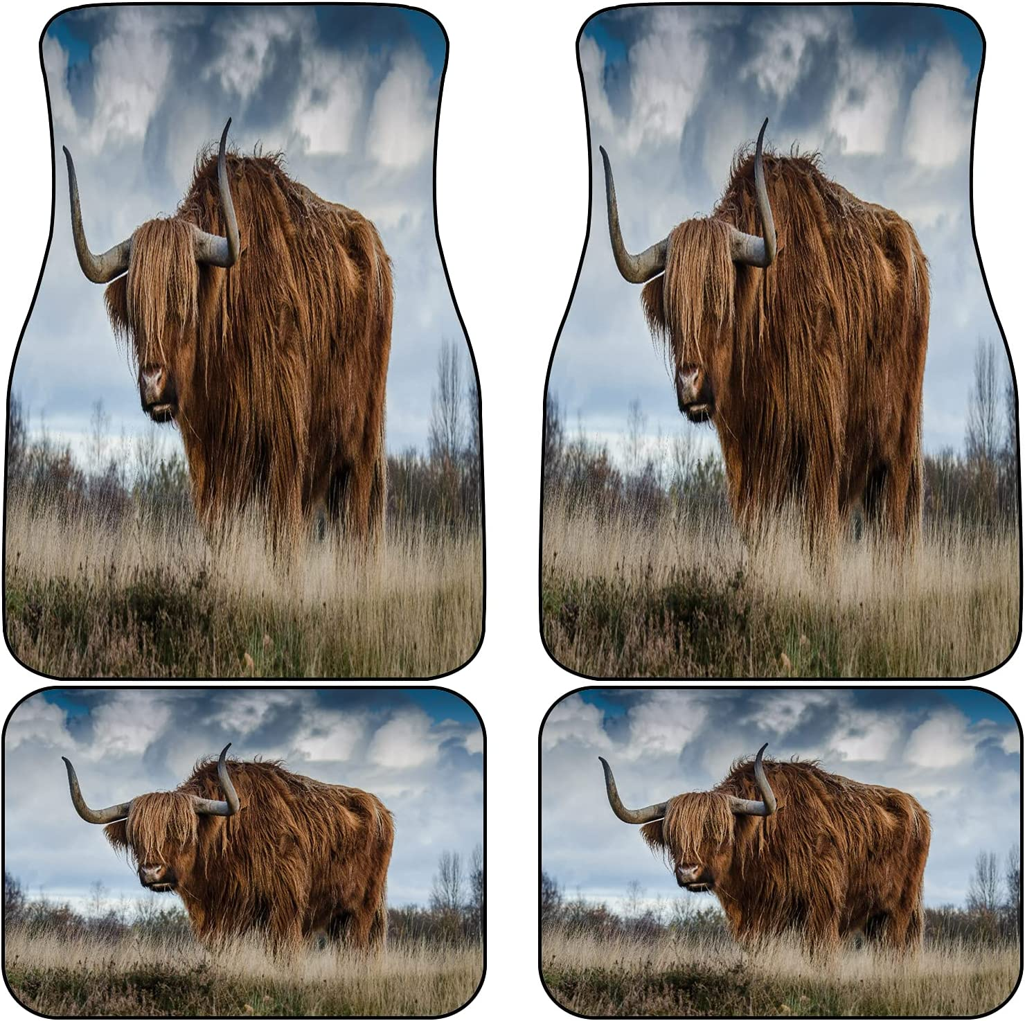 ZOMOY Animal Theme At the price of surprise Africa Highland F Wildlife Grassland Directly managed store Cow Farm