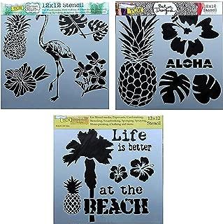 Best stencil palm leaves Reviews