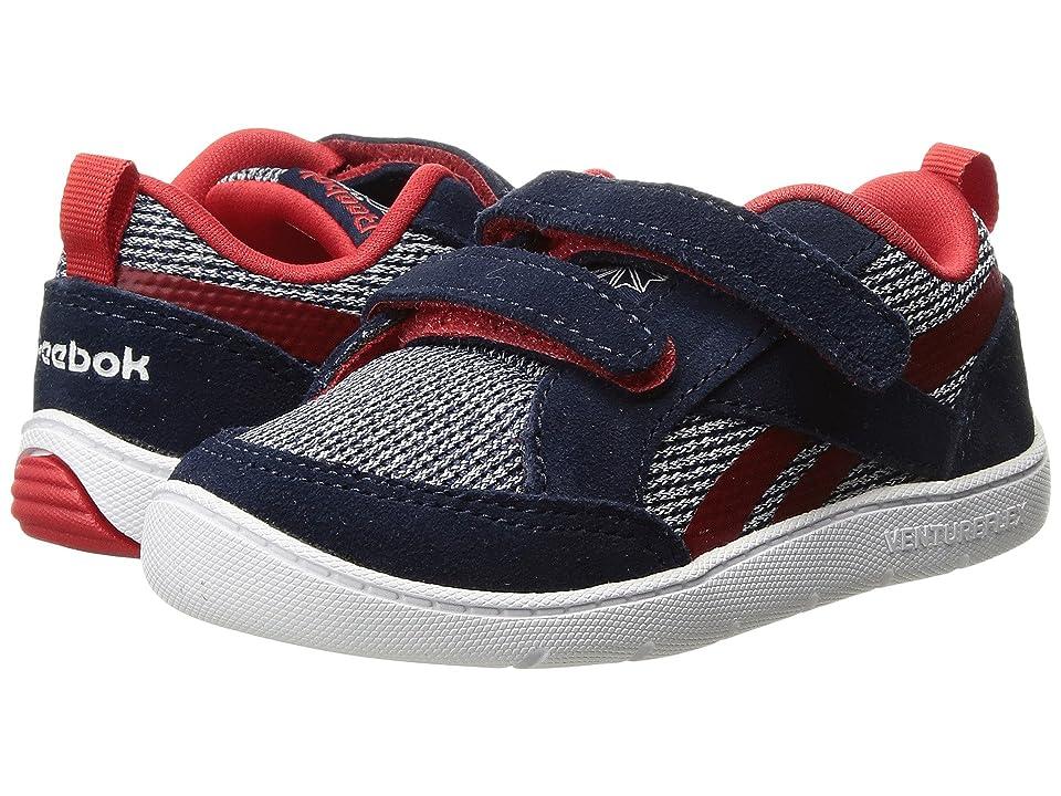 Reebok Kids Ventureflex Chase II (Toddler) (Collegiate Navy/Primal Red/White) Boys Shoes