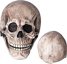 Schedelhelm, Eco-vriendelijk schedelmasker Helder zicht uitgerekt horror levensecht voor Kerstmis voor Halloween voor cosp...