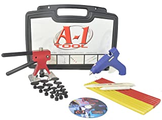 Paintless Dent Repair QUICK KIT QK-12 Includes PDR Training DVD, A-1 Dent Master, Glue, Glue tabs, Glue gun (120-volt AC),plastic glue removal tool, tap down and plastic carrying case