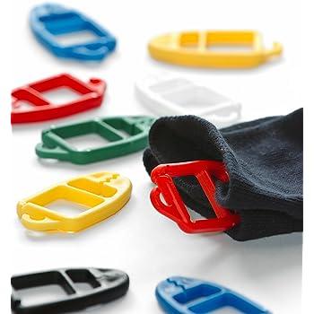 Cooplay Lot de 30/Supports de bague de chaussettes Bas Clip verrous /à laver trieurs de stockage organisation outils Cleanning pour maison