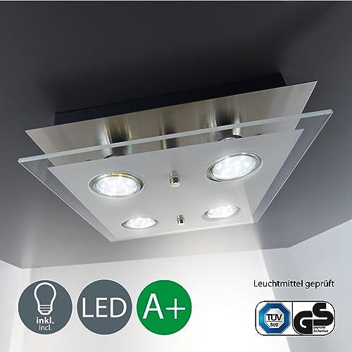 Square Led Ceiling Light Amazon Co Uk