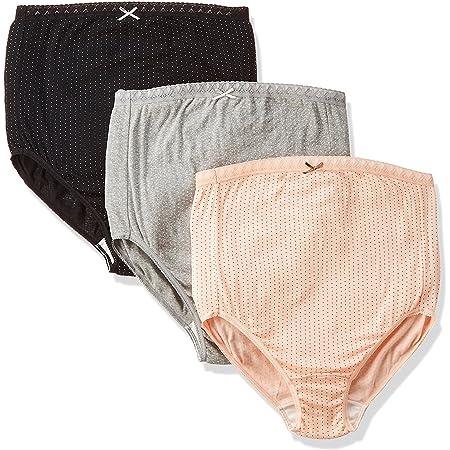 ローズマダム 綿100%素材 はじめてのママも安心 出産準備 色柄おまかせ M-L 3枚組マタニティショーツ 607-0331-20