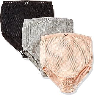 ローズマダム 綿100%素材 はじめてのママも安心 出産準備 色柄おまかせ L-LL 3枚組マタニティショーツ 607-0331-20