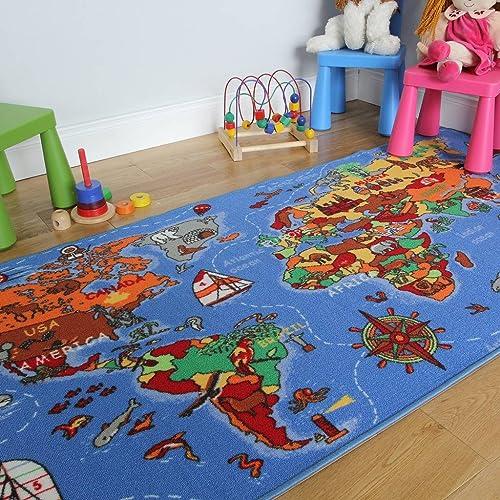 Childrens Bedroom Rugs: Amazon.co.uk