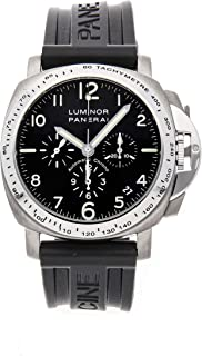 Panerai Luminor Mechanical (Automatic) Black Dial Mens Watch PAM 74 (Certified Pre-Owned)