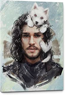 John Snow Games of Thrones Canvas Wall Art Decor (11