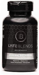 LYFE BLENDS Adrenal Recharge, Adrenal Support Formula; Vegetarian, Gluten Free