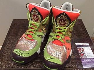 56f473ad7762 Dennis Rodman New Autographed Signed Addias Jeremy Scott Shoes Memorabilia  JSA