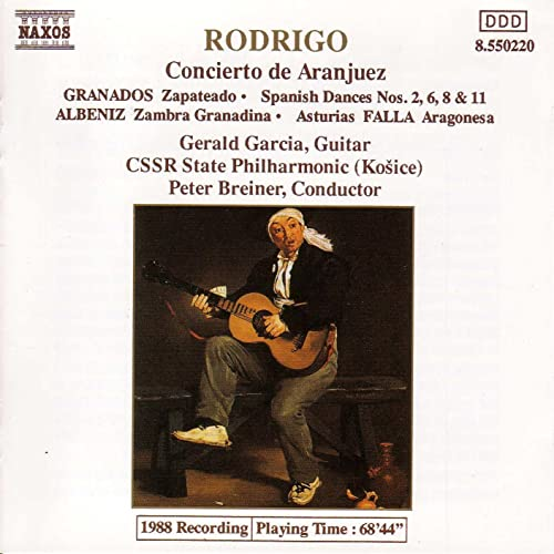 Amazon.com: Rodrigo : Concierto De Aranjuez: Gerald Garcia ...