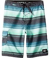Santa Cruz Stripe Boardshorts (Big Kids)