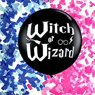 American Made - Witch or Wizard Gender Reveal Balloon - Giant 36
