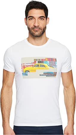 BOSS Orange - Tux 2 Vintage Taxi Graphic Tee