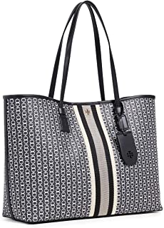 Tory Burch Women's Gemini Link Canvas Tote