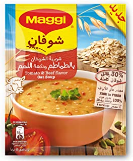Maggi Tomato and Beef Flavor Oat Soup 65g
