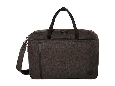 Herschel Supply Co. Bowen (Black Crosshatch) Tote Handbags