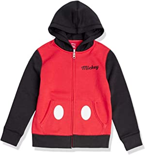 Amazon Essentials Niño Disney Star Wars Marvel Sudaderas con capucha y cremallera de forro polar